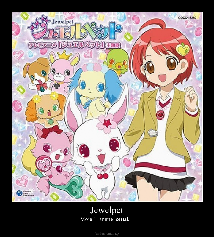 Jewelpet - Moje 1  anime  serial...