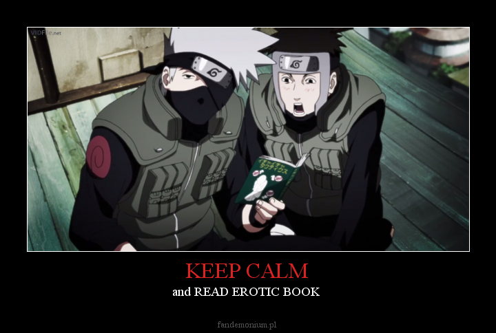 KEEP CALM - and READ EROTIC BOOK