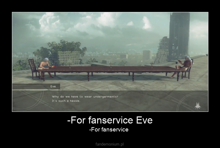 -For fanservice Eve - -For fanservice