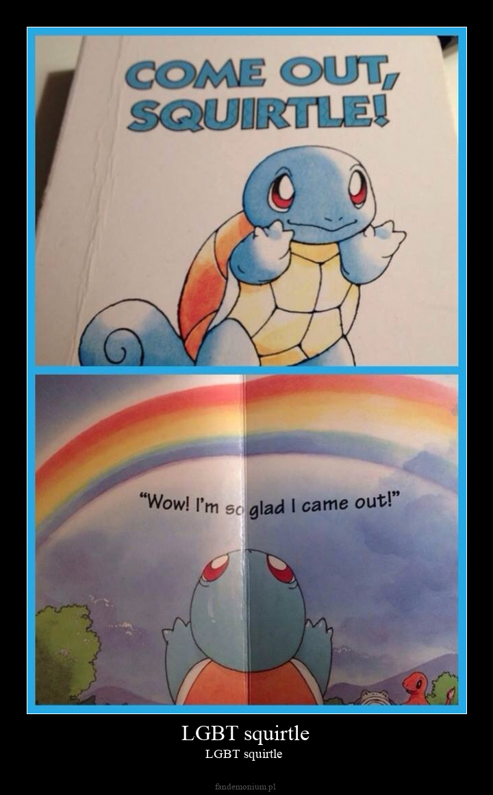 LGBT squirtle - LGBT squirtle