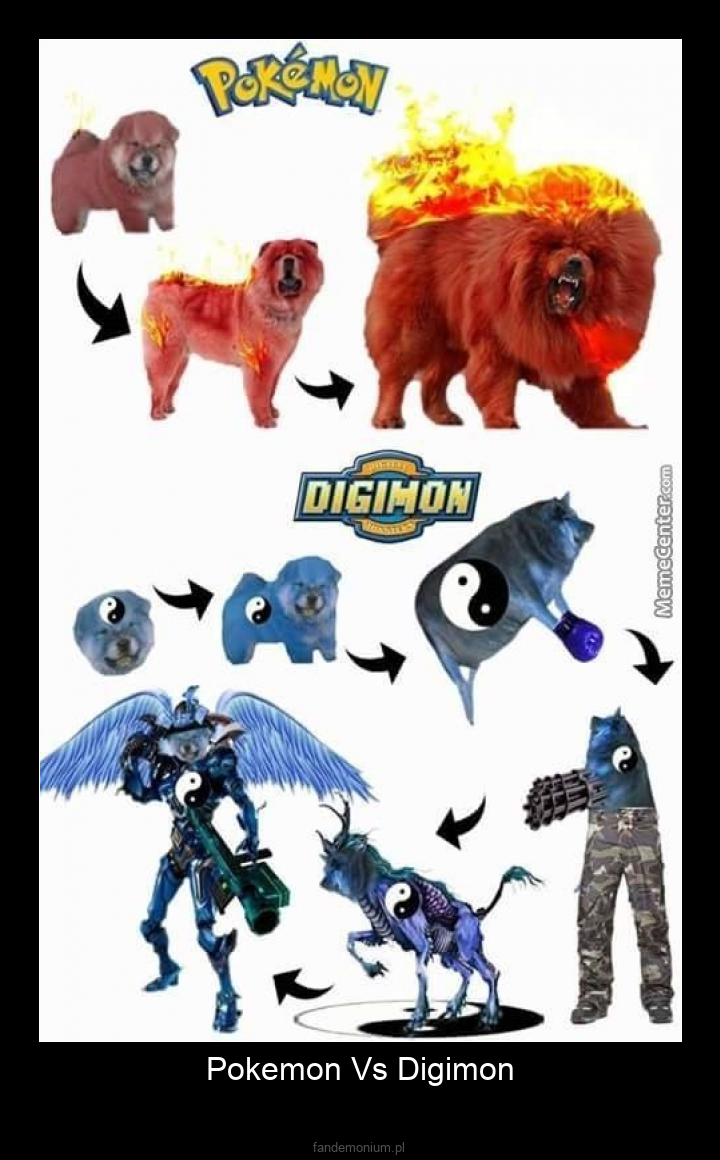 Pokemon Vs Digimon -
