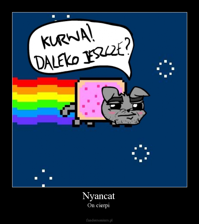 Nyancat - On cierpi
